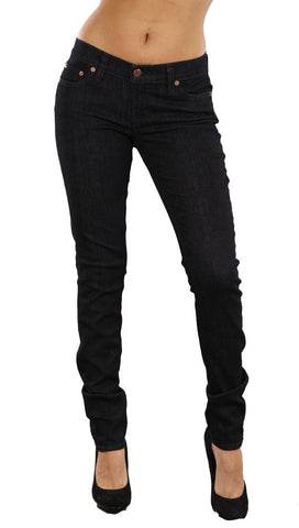 Red Engine Burner Super Skinny Denim Jeans in Jewel