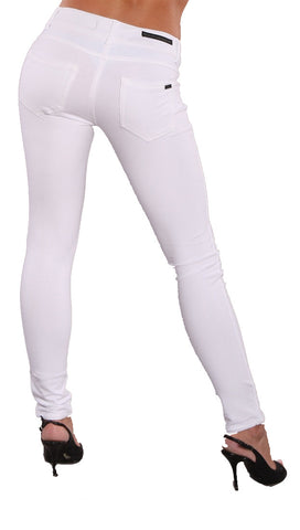 Research & Development Sonya Skinny Pants White