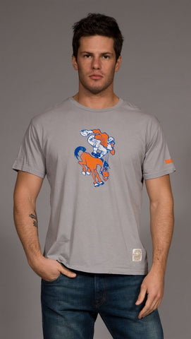 Retro Sport Denver Broncos Vintage Washed Crew