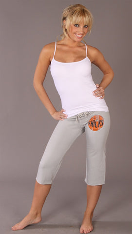 Retro Sport Capri Sweat Pants Knicks