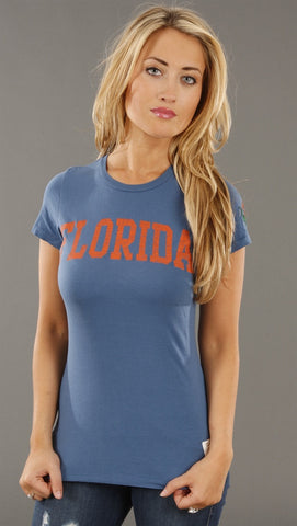Retro Sport University of Florida Gators Washed Crew Tee