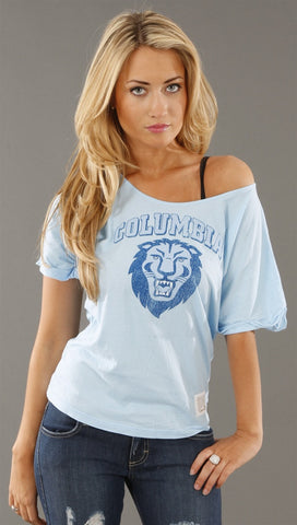Retro Sport Columbia University Dolman Tee