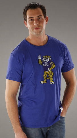 Retro Sport Louisiana State University Vintage Washed Crew