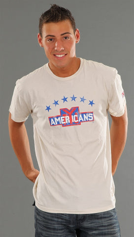 Retro Sport New York Americans Vintage Washed Crew