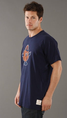 Retro Sport Syracuse University Orangemen Vintage Washed Crew