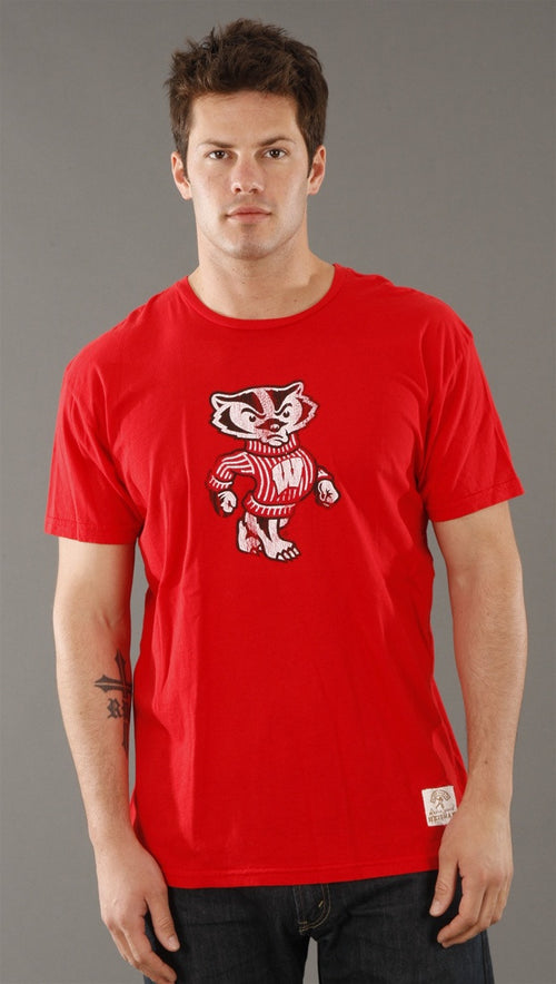 Retro Sport University of Wisconsin Vintage Washed Crew