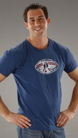 Retro Sport Boston Patriots Vintage Washed Crew