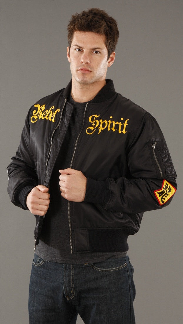 Rebel Spirit Bomber Jacket