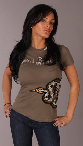 Rebel Spirit Snake Tee