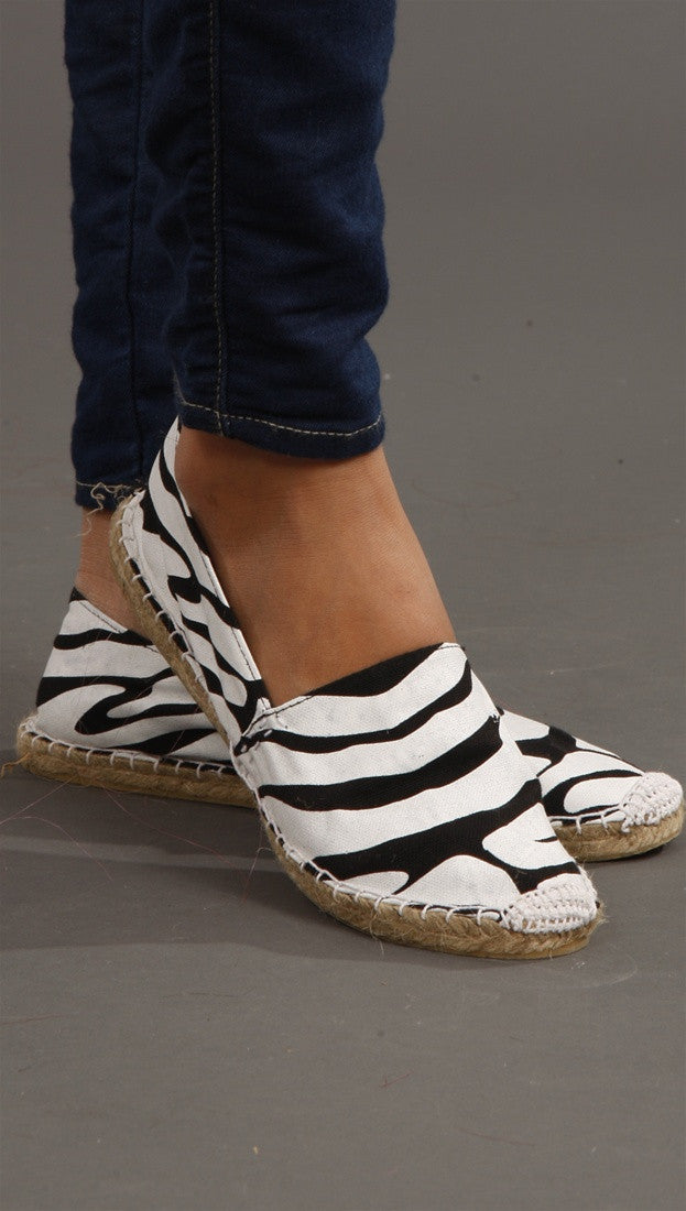 Rubber Duck White Zebra Flat