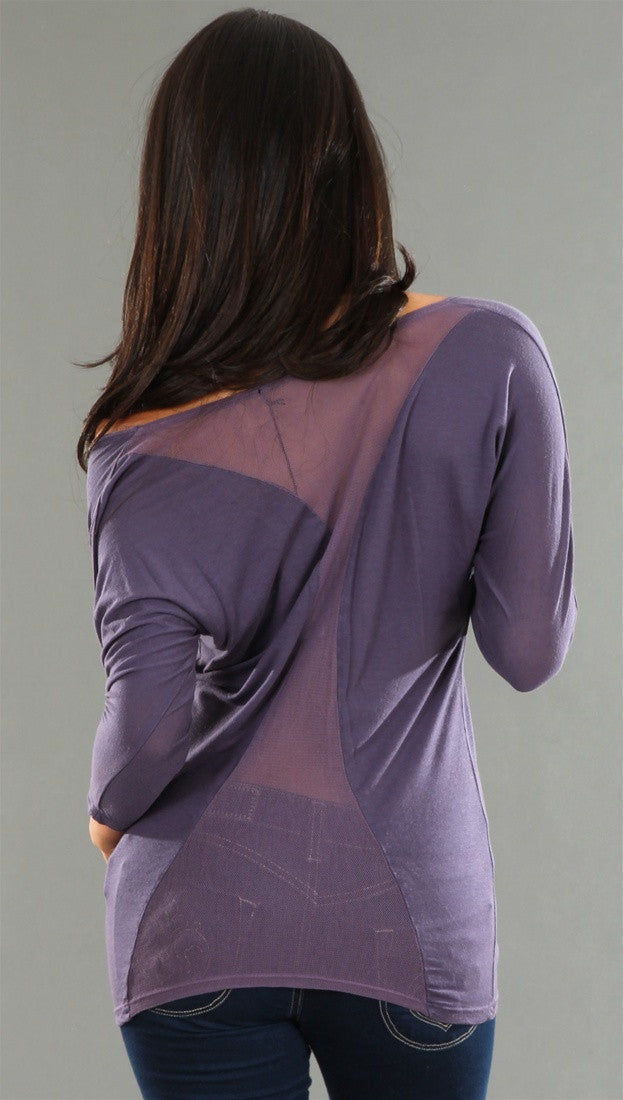 Salvage Sundance II Top in Purple