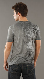 Salvage Decalogue Tee in Gray