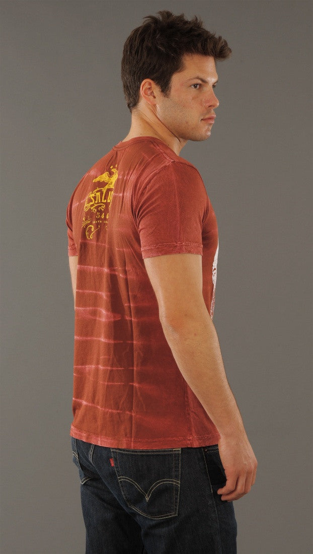 Salvage Higinia Tee in Red