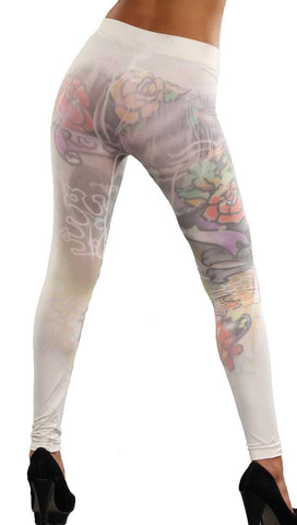 Thorn Guarden Tattooed Sublimation Leggings