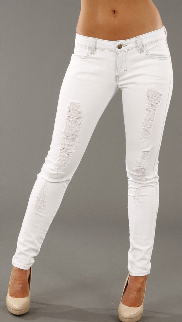 Siwy Denim Hannah Slim Jeans in Snowstorm