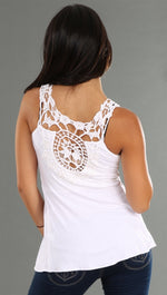 Sky Dalene Top in White