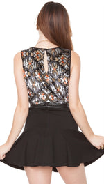 Sugar Lips Night Cruise Skirt