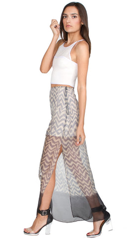 Sugar Lips Moonlightin' Maxi Skirt