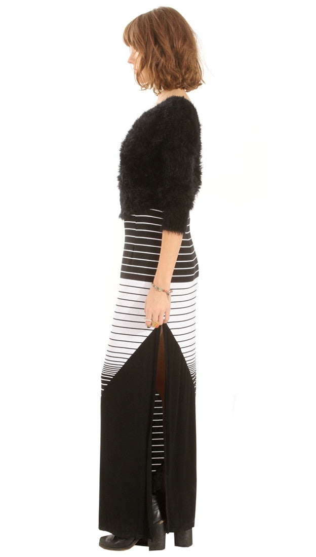 Sugar Lips Side Swept Maxi Skirt