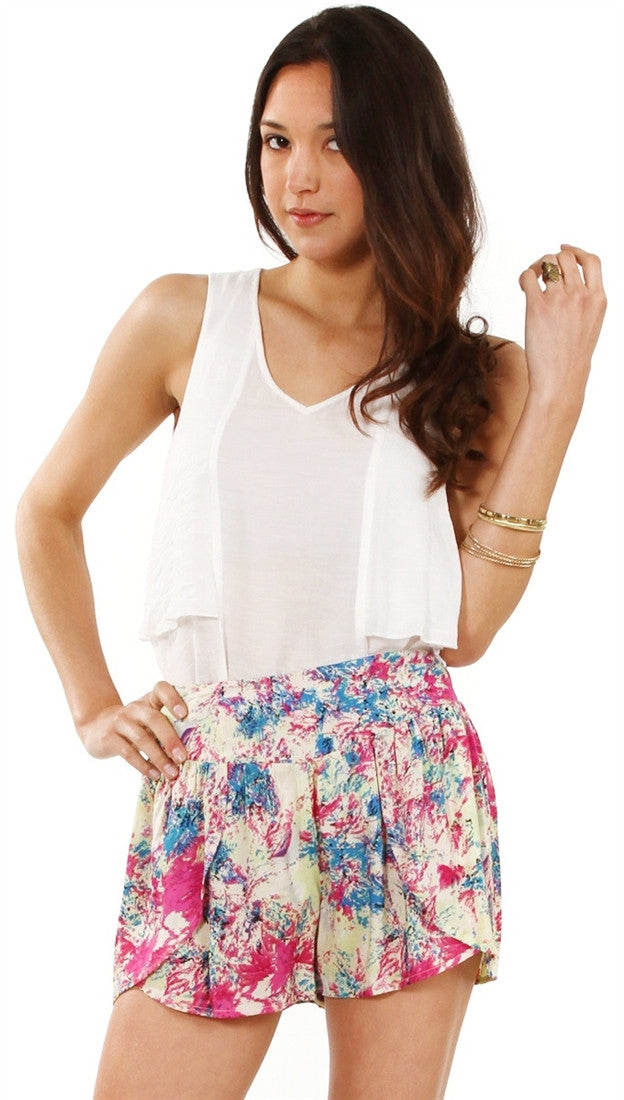 Sugar Lips All White Layers Top