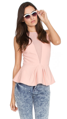 Sugar Lips Pink Daisy Top