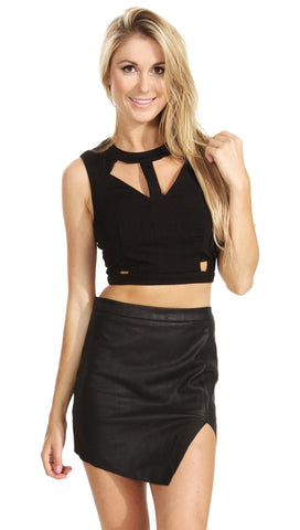 Sugar Lips Cutting Edge Crop Top