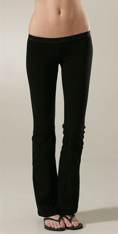 So Low Solid Foxy Flare Leggings Black