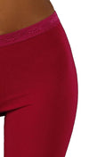 So Low Modal Crop Legging in Fuchsia