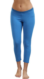 So Low Modal Crop Legging in True Blue