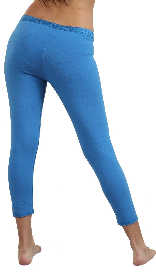 SoLow Modal Crop Legging in Blue