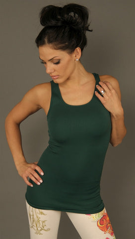 So Nikki Ribbed Tank Long (more colors available)