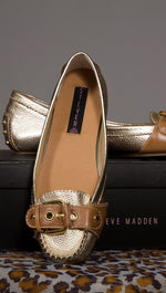 Steve Madden A Loving Loafer Gold