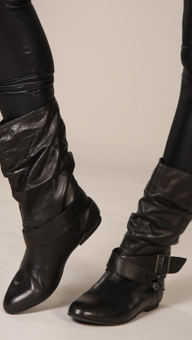 Steve Madden Bizmarc High Leather Boots