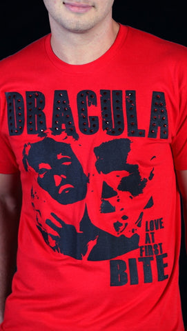 Street Star 'Original Classics' Dracula Crew Neck Tee in Red