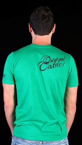 Street Star 'Original Classics' Frankenstein Crewneck Tee in Kelly Green