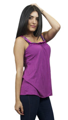 Sweetees Heatwave Tank Silk Ribbon Purple