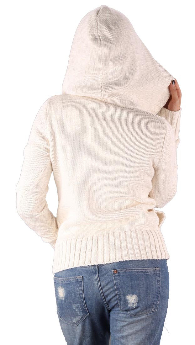 Sweet Romeo Pullover Sweater Natural