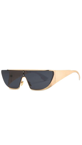 ShopShade Donna Rihanna Dior Sunglass Shades Black Gold