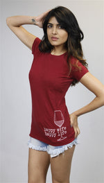 Teresa Giudice Happy Wife Happy Life Wine Tee