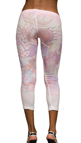 Thorn Guarden Winged Heart Sublimination Leggings