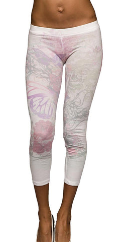 Thorn Guarden Light Floral Sublimination Leggings