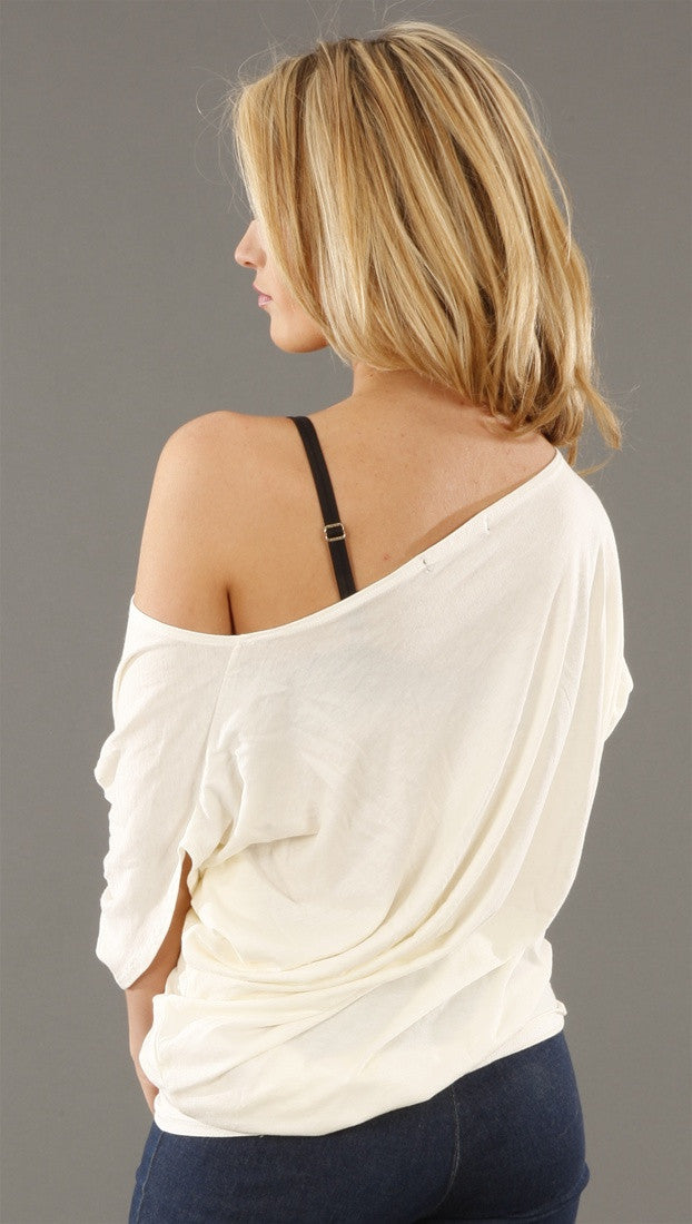 Trash & Luxury Beauty Slim V Asymmetrical Top
