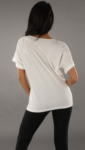 Trash & Luxury Maitresse Tee in White