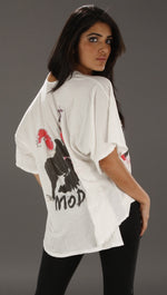 Trash & Luxury Moda Tee in White