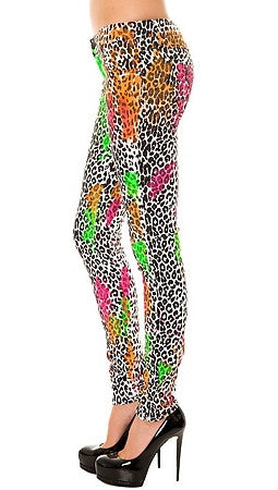 Tripp NYC The Neon Leopard Paintball Pant