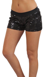 Tart Collection Sequin Shorts Black