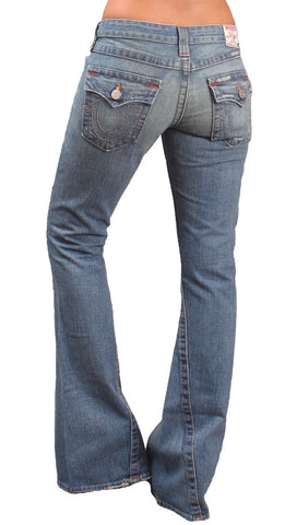 True Religion Joey Flare Leg Jean in Cowgirl