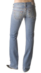 True Religion Johnny Big T in Easy Rider Light Denim Boot