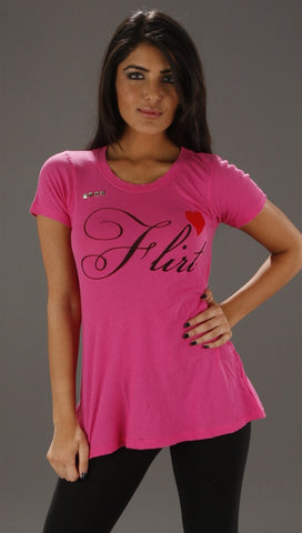 Wildfox Couture Flirt Tee in Magenta