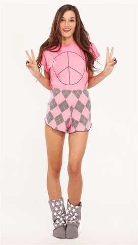 Wildfox Couture New Peace Desert Crewneck in Bel Air
